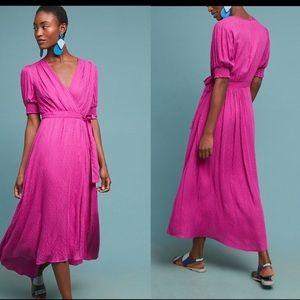 Anthropologie Maeve Breanna Wrap Dress